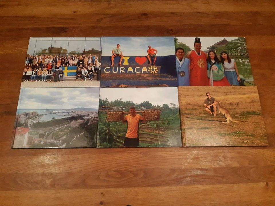 Mijn fotoboeken van de vakantiefoto's