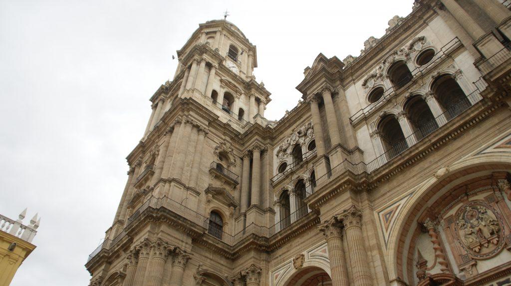 De kathedraal van Malaga is 130 meter hoog