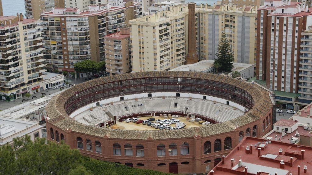 Stierenvechtarena Plaza de Toros La Malageuta van Malaga