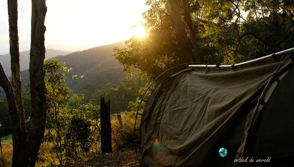 Slapen in de Blue mountains. een hoogtepunte in de oostkust van Australië