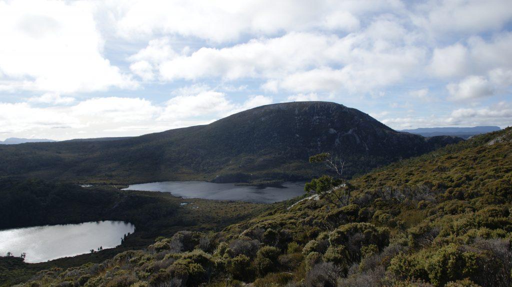 Marions lookout op Cradle mountain