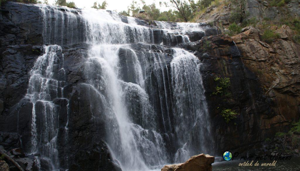 de mackenzie waterval in de Grampians natioanal park